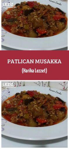 Patlıcan Musakka (Harika Lezzet) Salsa, Food And Drink, Beef, Meat, Salsa Music, Steak