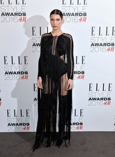 Bella Hadid bei den Elle Style Awards