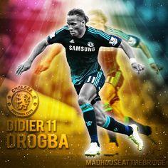 KING DROGBA.....#CFC #CFCFamily #CLFC #Chelsea #ChelseaFC #ChelseaLFC #TrueBlue #KTBFFH #StamfordBridge #CTID