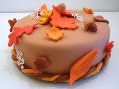 Thanksgiving Fondant Cakes HD Wallpapers Wallpaper