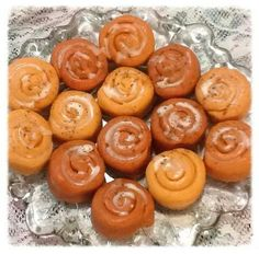 Pumpkin Frosted cinnamon Danishes scented wax melts from Www.victoriasdesignercreations.com