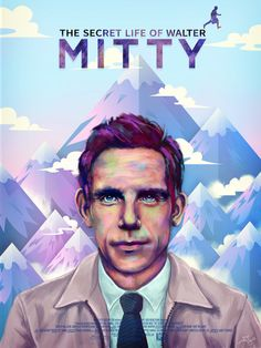 """Alternative poster """"The Secret Life Of Walter Mitty"""""""