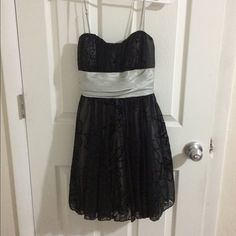 Black and silver party dress Black and silver party dress Speechless Dresses Mini