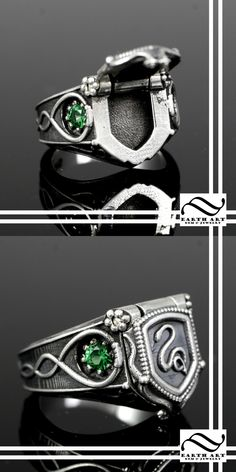 Harry Potter Slytherin House Poison ring by mooredesign13 on DeviantArt