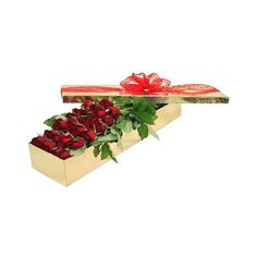 Two Dozen Premium Boxed Roses | Florist Sydney Melbourne Brisbane... ($205) ❤ liked on Polyvore featuring flowers