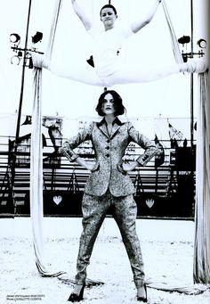 Gifford's Circus by Ellen Von Unwerth for Lula Magazine