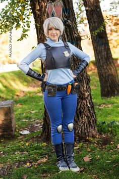 Judy Hopps from Zootopia Cosplay http://geekxgirls.com/article.php?ID=8380