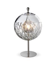 LAMPE SFERA CRISTAL CLAIR- BACCARAT