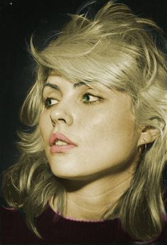 The original bleach blonde babe. #debbieharry #bleached #blonde