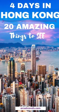 20 things to do in Hong Kong in 4 days - travel in Hong Kong