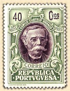 """1925 - """"Repvblica Portvgvesa""""  CAMILO CASTELO BRANCO (escritor)"""