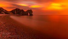 305 seconds of gorgeousness - A five minute exposure at sunset over Durdle Door  The Retrospective Series