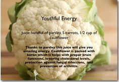 Juice Recipe for energy