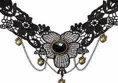 YAZILIND Collar Handmade Lolita Heart Drop Pendant Lace Choker Necklace Black Multi Chain No description http://www.comparestoreprices.co.uk/december-2016-week-1/yazilind-collar-handmade-lolita-heart-drop-pendant-lace-choker-necklace-black-multi-chain.asp