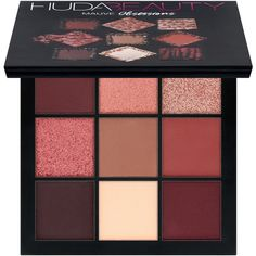 Obsessions Eyeshadow Palette Huda Beauty (465 ARS) ❤ liked on Polyvore featuring beauty products, makeup, eye makeup, eyeshadow, beauty, eye shadow, eyeshadow palette, filler, huda beauty eyeshadow and palette eyeshadow