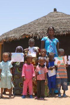 S'il vous plaît, dessine-moi une école... - ECOLE SOXNA BEYE: à Afrika Ranch, Rao, SENEGAL