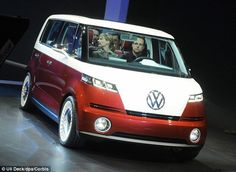 Speaking at the New York International Auto Show, Dr Neusser didn't give any specific design details away, but said that the new version will share at least three key features with the Westfalia Camper. Volkswagen has unveiled two prototype 'microbuses' including the Bulli (pictured) in recent years