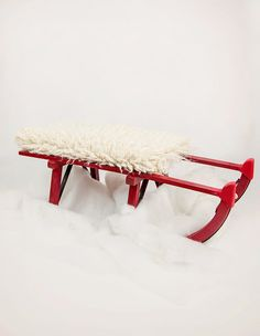 Digital Backdrop, red sledge for Christmas shoots by AuraDigitalBackdrops on…