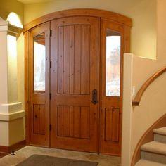 Interesting door for tiny home