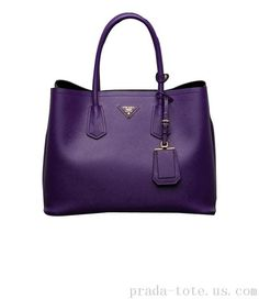 Fashion #Prada Saffiano Cuir Double Tote Bag Outlet store