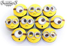 Minion Cupcakes!!! Adorable!!!