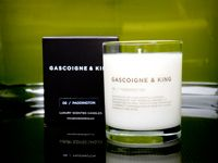 Gascoigne & King - Inspired by the uplifting scents of spring, fresh cut grass and morning dew. Belle is a combination of green leafy notes, geranium, spearmint and bergamot with a crisp citrus finish.