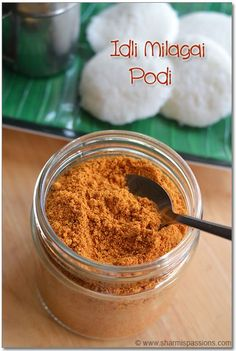 Idli Milagai Podi - Idli Podi Recipe - Homemade Powder for Idli Dosa