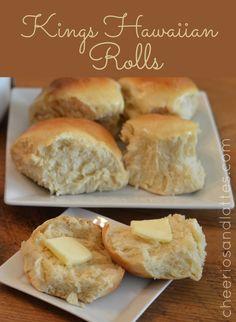 King's Hawaiian Rolls- Copycat Recipe - Cheerios and Lattes