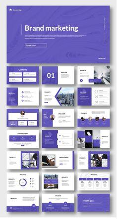 Powerpoint Design Templates, Presentation Design Template, Presentation Layout, Ppt Template, Business Presentation, Graphisches Design, Design Blog, Slide Design, Company Profile Design
