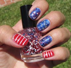 My Nail Polish Obsession: 4th of July: Red, White & Blue!