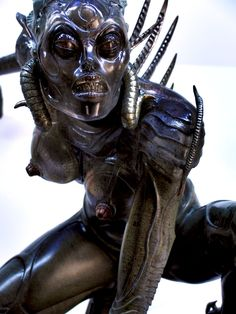 "HR Giger from the movie ""Species"""