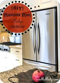 "Are you looking for an easy and non-toxic way to clean your stainless steel? Look no further because this is the easiest way EVER! You will scratch your head and think ""why didn't I think of that."""