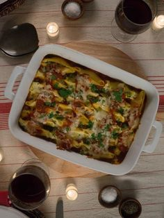 Get Stuffed Shells with Three-Cheese Stuffing Recipe from Cooking Channel