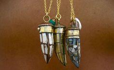 i think i'll just repin @Emily Schoenfeld Reinhardt's whole jewelry board... :) -- tibetan tusks