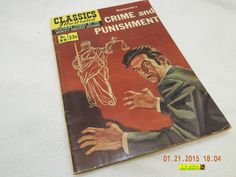 CLASSICS ILLUSTRATED: #89! CRIME AND PUNISHMENT! AUTUMN 1969! AS IS!