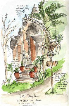 Jimbaran-temple-sketch.jpg 837×1,280 pixels