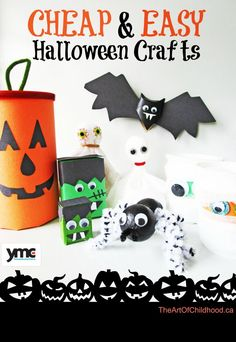 6 boo tiful halloween crafts for your kids homemade halloween decorationshalloween party decoreasy - How To Make Homemade Halloween Decorations