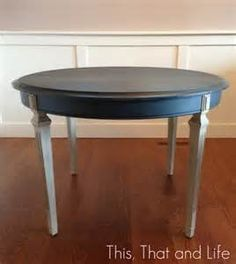 This, That & Life — Round Foyer Table Makeover