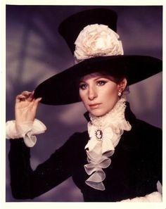 Barbra in Hello Dolly  1960s  #vintage #hats ✿✿ڿڰۣ(̆̃̃-- ♥ Donna-NYrockphotogirl