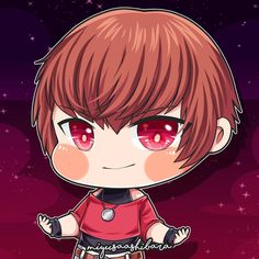Orochi Chris - King of Fighters . Cute Emoji Wallpaper, Cute Cartoon Wallpapers, King Of Fighters, Miya Mobile Legends, Champions League Of Legends, Alucard Mobile Legends, Mobile Legend Wallpaper, Gaming Wallpapers, Anime Chibi