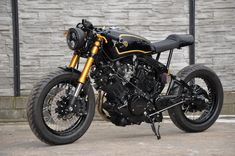 Yamaha XV750 cafe racer by Street Garage Poland #3