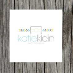 Photography Logo - camera logo - premade logo - arrow logo - chevron logo