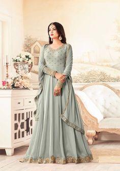 Sonal Chauhan Designer Georgette Anarkali Salwar Suit After placed order you should submit MeasurementHere