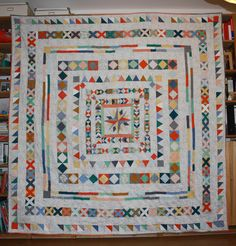 Medallion quilt finished | Flickr