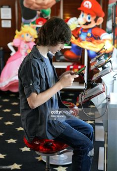 Actor Chandler Riggs attends the Nintendo Lounge On The TV Guide Magazine Yacht At Comic-Con