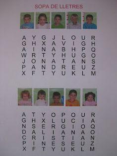 EDUCACIÓ INFANTIL: JUGUEM AMB ELS NOSTRES NOMS Emergent Literacy, Phonics, Nom Nom, Have Fun, Projects To Try, Names, Classroom, Writing, Education