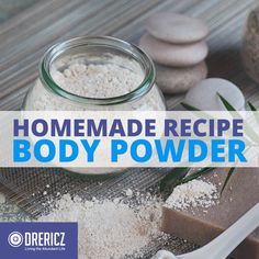 Want to soften your skin and smell good? This homemade body powder recipe has essential oils and natural powders that can deodorize and soften your skin