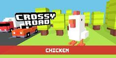 White Chicken in Crossy Road