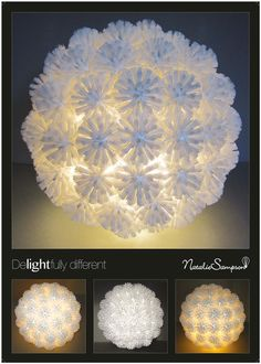 I hope, its not recycled..... ;-) But so awsome this toiletbrushes-lamp...