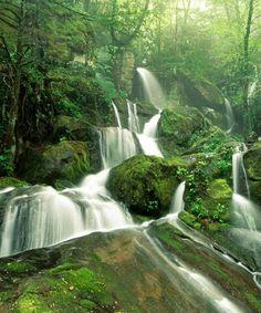Amazing waterfall view